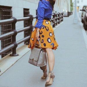 3.1 Philip Lim 💕Animal Print Blogger A-line Skirt